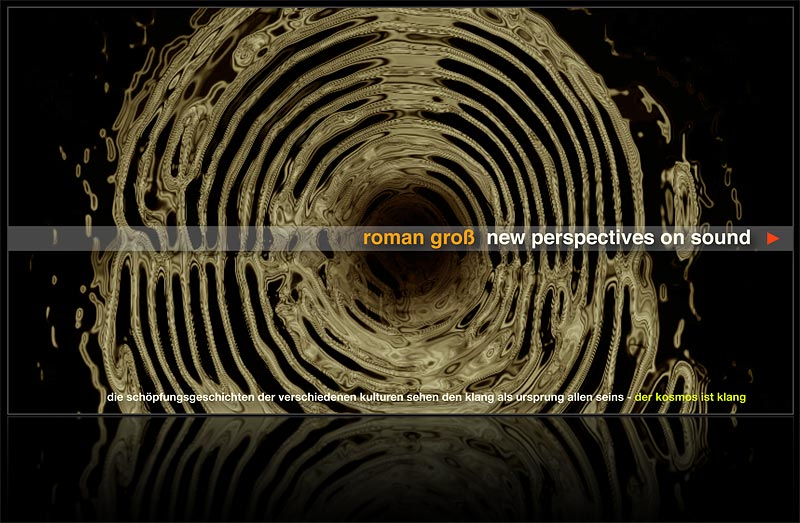 Roman Groß - New Perspectives On Sound